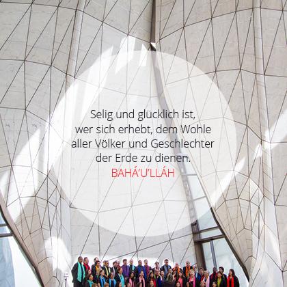 'Abdu'l-Bahá - Diene allen Völkern und Geschlechtern der Erde