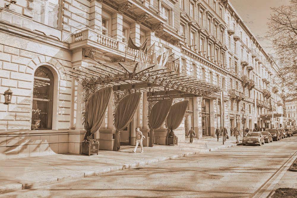 'Abdu'l-Bahá - Grand Hotel Wien