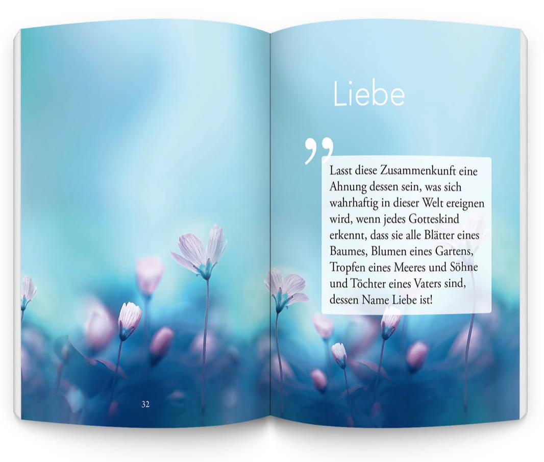 'Abdu'l-Bahá - Liebe